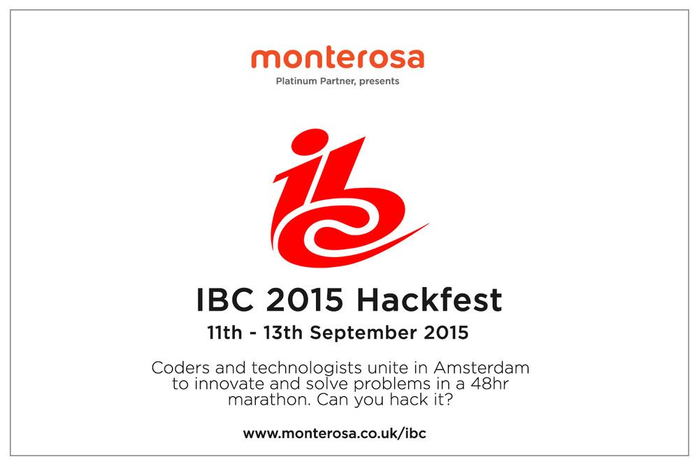 Monterosa IBC hackfest