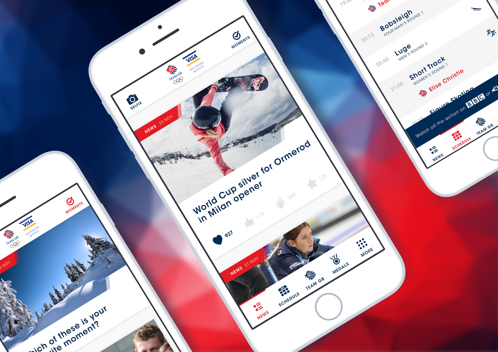 The official British Olympic team's app is powered by the Monterosa  Sport Companion  and  LViS interaction platform .  Learn more here.