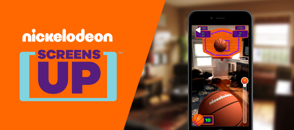 fc5f0d4e88ffa Nickelodeon Brings AR TV + Mobile Experiences to Kids with Screens Up