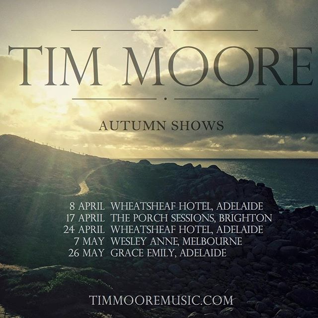 Check out these amazing blokes - Tim Moore and Liam Gerner at the Wheaty tomorrow night!
