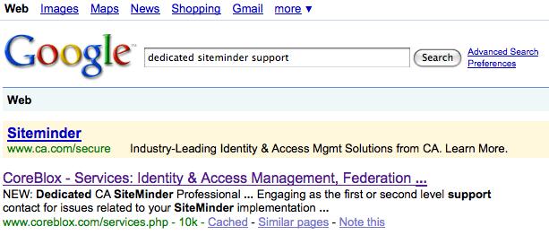 CoreBlox is #1 for Dedicated SiteMinder Support — CoreBlox