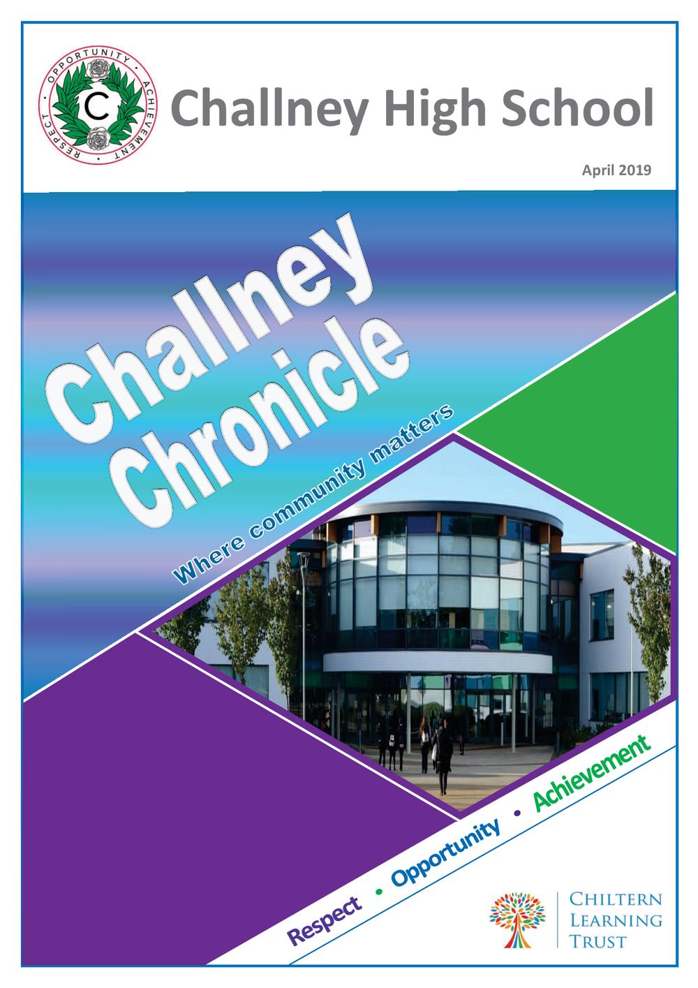 1Challney Chronicle April 2019.png