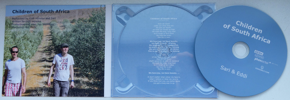 So sieht's aus, wenn du die CD aufklappst