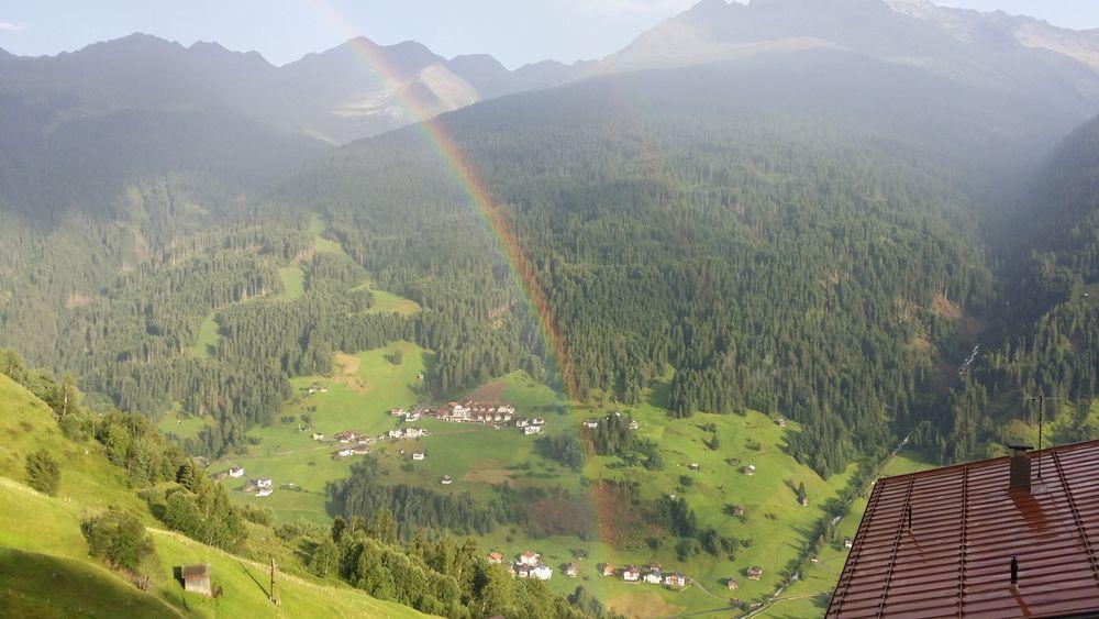 So schön war der Blick vom Ferienhaus in Österreich :)