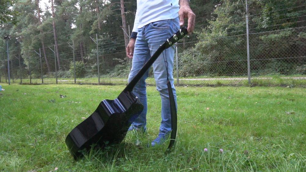 Kurz vor dem Gitarrensturz