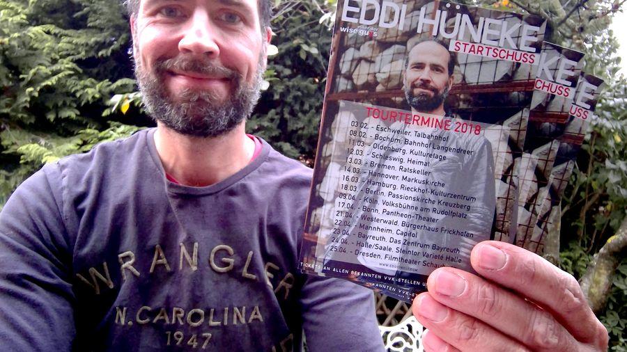 Neue Flyer habe ich auch! 😉 Alle Termine wie immer auf www.eddiswelt.com/live