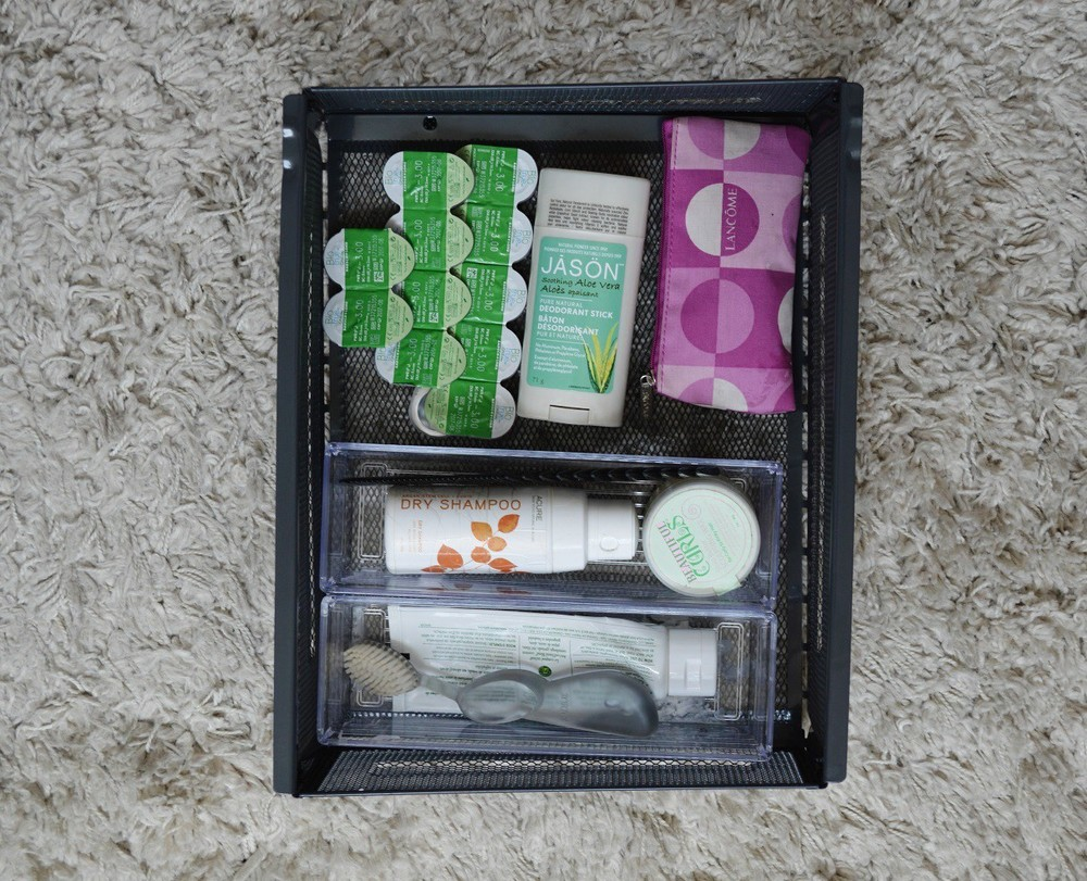 How I Organize My Everyday Beauty products