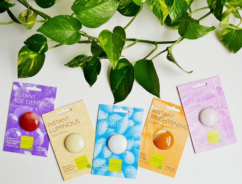 Andalou Naturals Instant Face Masks Review