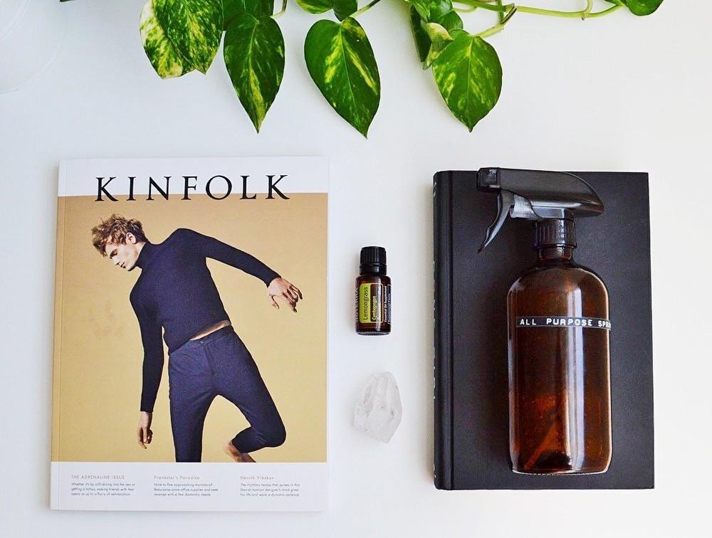 April Lifestyle Favourites: Doterra, Kinfolk, + More