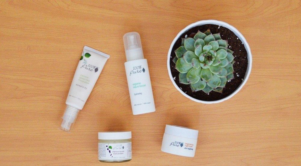 100% Pure Pure Skincare Haul