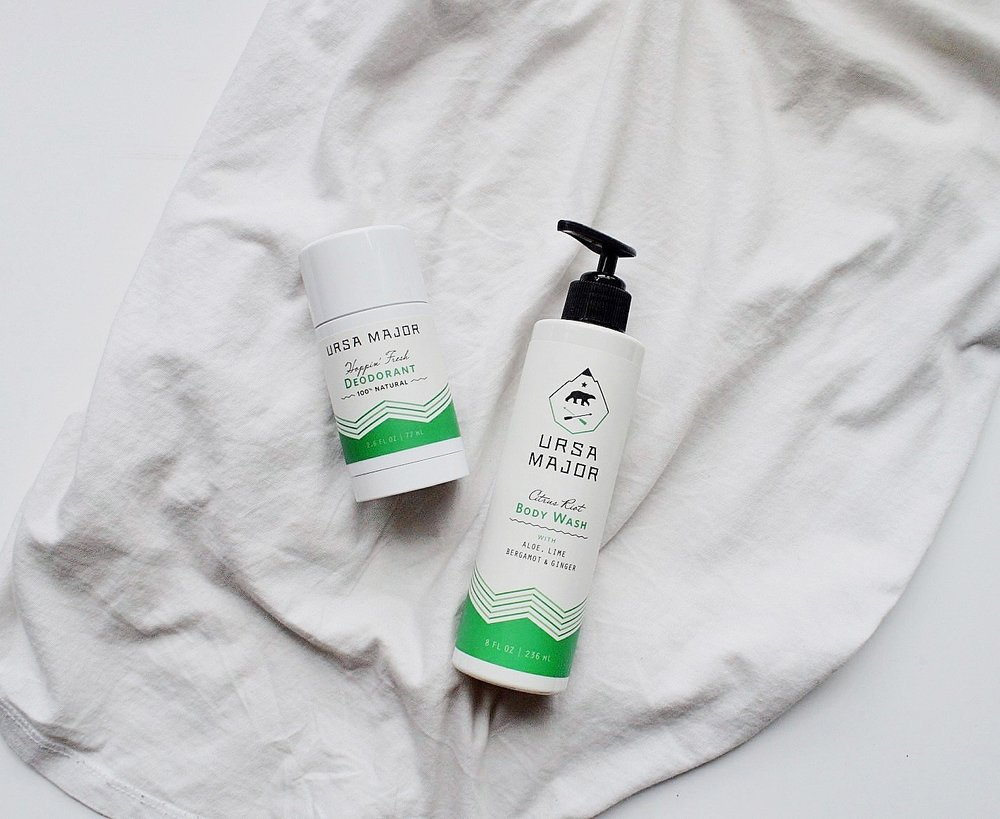 Ursa Major Citrus Riot Body Wash + Hoppin Fresh Deodorant Review