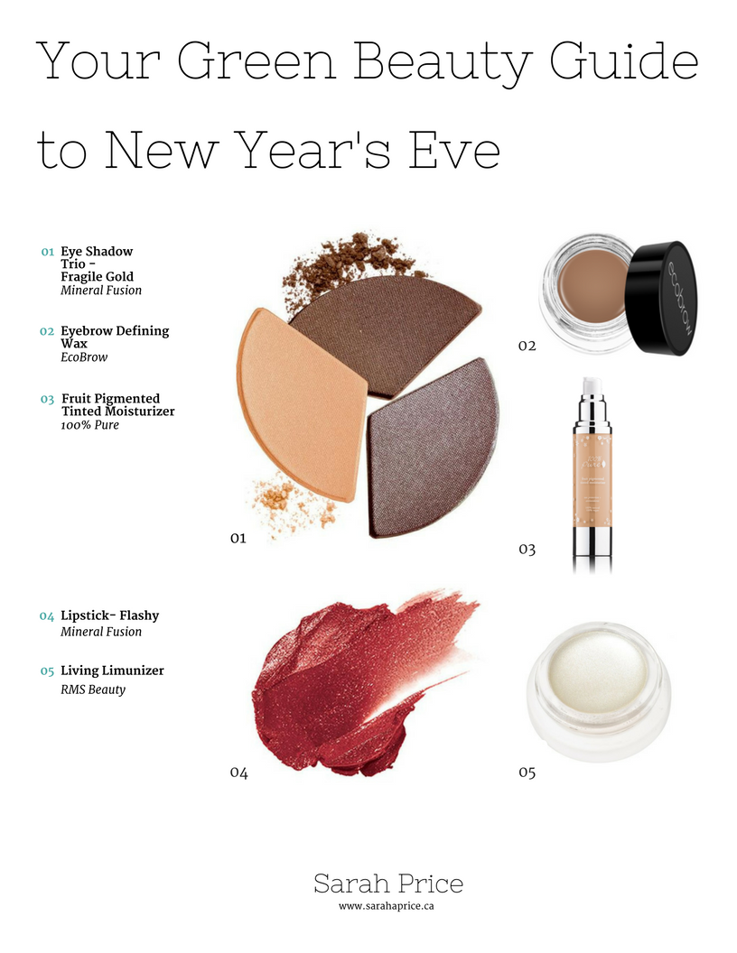 Your Green Beauty Guide to New Year's Eve