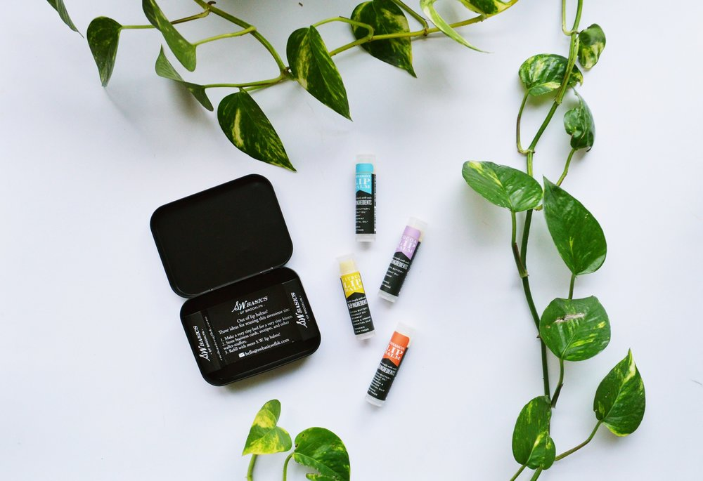 S.W. Basics Organic Lip Balm