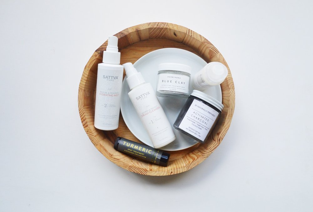 Green Beauty Skincare Products for Acne