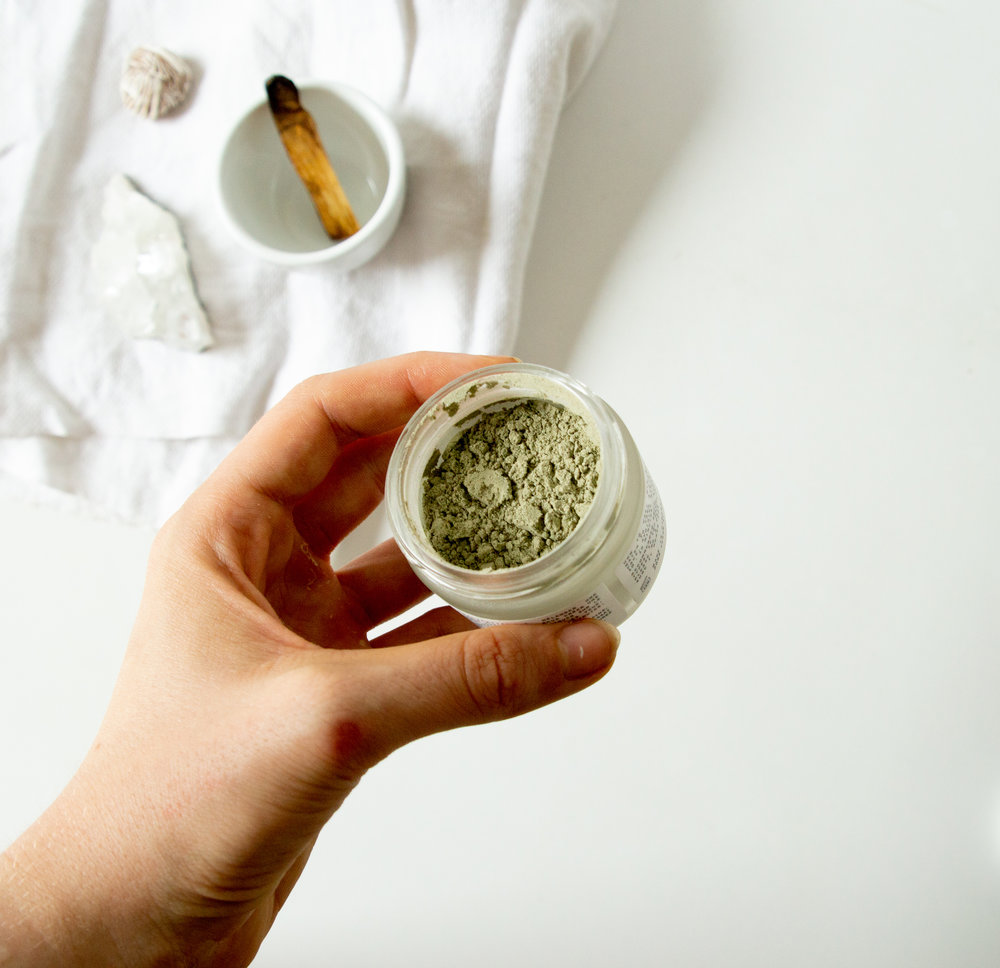 Woodlot Rejuvenating Green Tea + Clay Mask Review