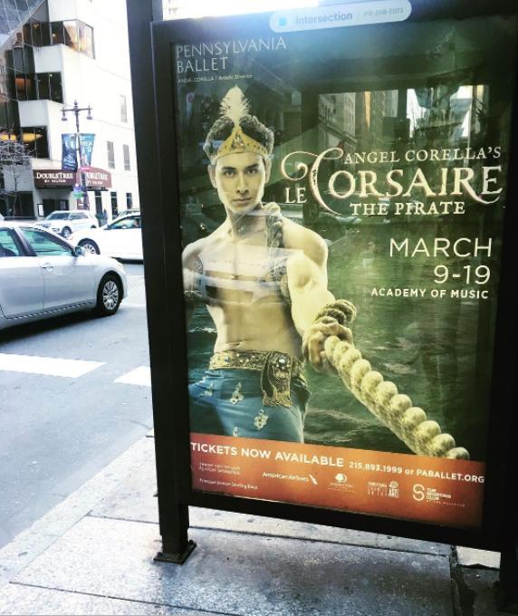CCD Poster on Broad Street, Philadelphia