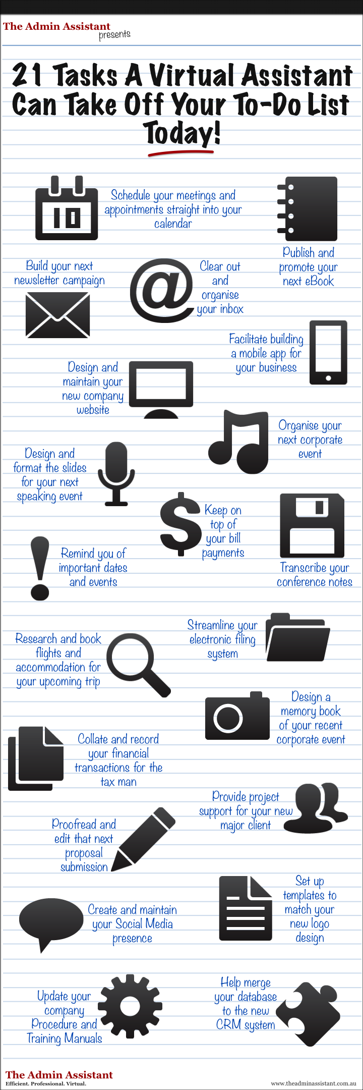 Clear Your To Do List With A Virtual Assistant!