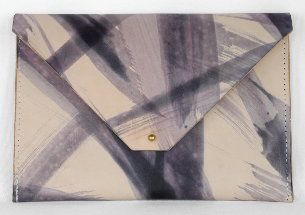 Hand-painted clutch from the new Heirloom Collection.