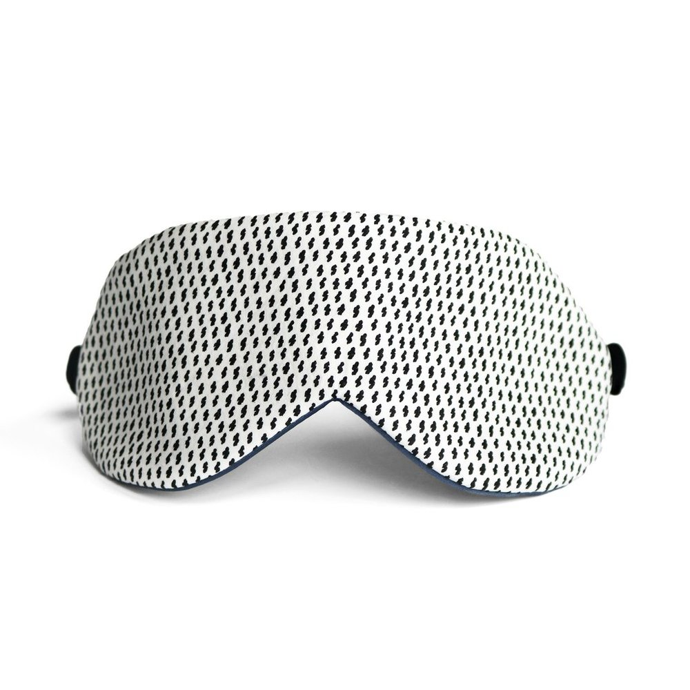 Sky Sleep Mask in Silk Charmeuse