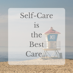 Self-care and business work