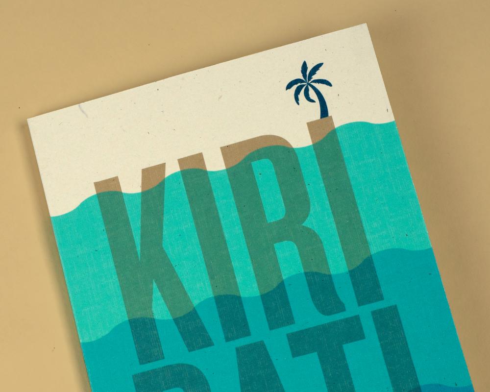 Kiribati - \ Infographic, Book, & Website
