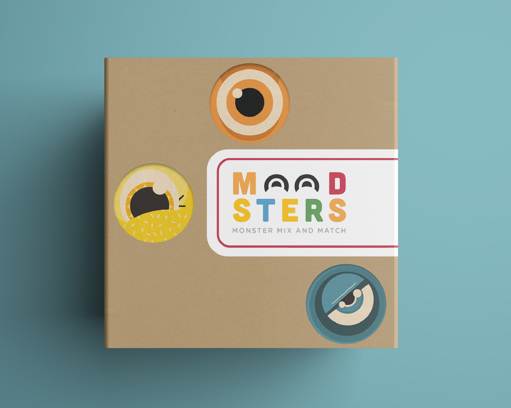 Moodsters - \ Product Design, Branding