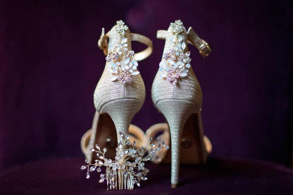 Wedding Shoes Detail