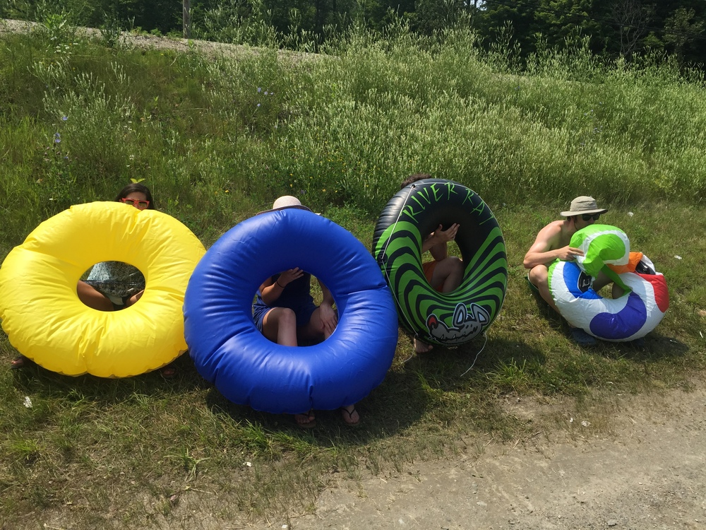 When the river flows 200-400 cubic feet per second it's hard to imagine a more pleasant Vermont activity than floating down it with food, drink and friends.