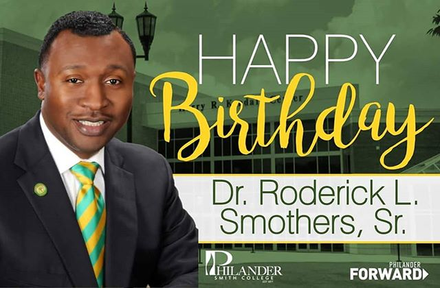 Today we wish the Happiest of Birthdays to our visionary leader and #1 student champion @philander14thprez!