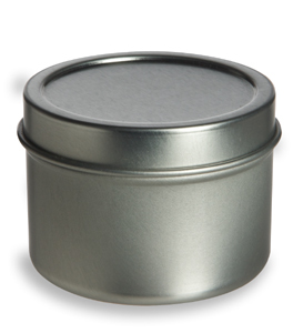 2.0 oz - Small Metal Container