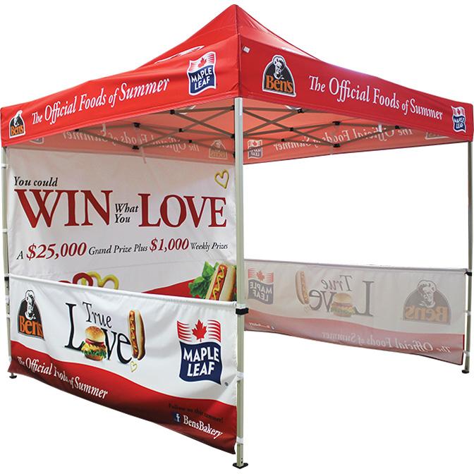 Photo Creditu0026nbsp ...  sc 1 st  CatchAttention & Custom Printed Pop Up Tents u2014 CatchAttention - Custom Promotional ...