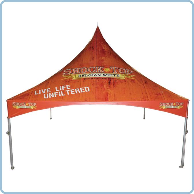 Custom Printed Vinyl Tents