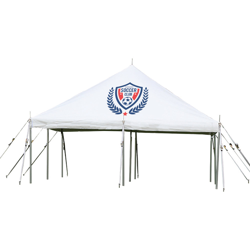 Photo Creditu0026nbsp ...  sc 1 st  CatchAttention & Large Promotional Tents u2014 CatchAttention - Custom Promotional Products