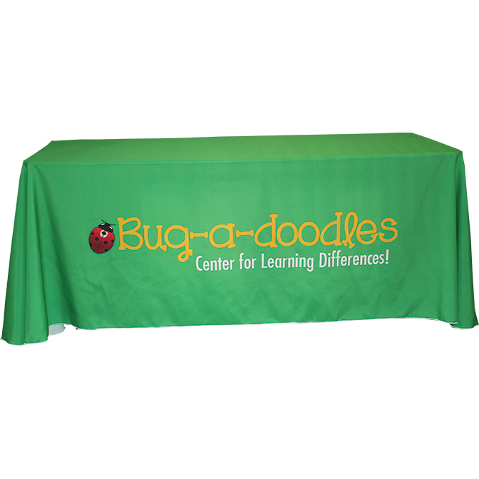 6' Draped Table Cover