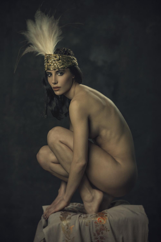 Black girl dancing nude-3808