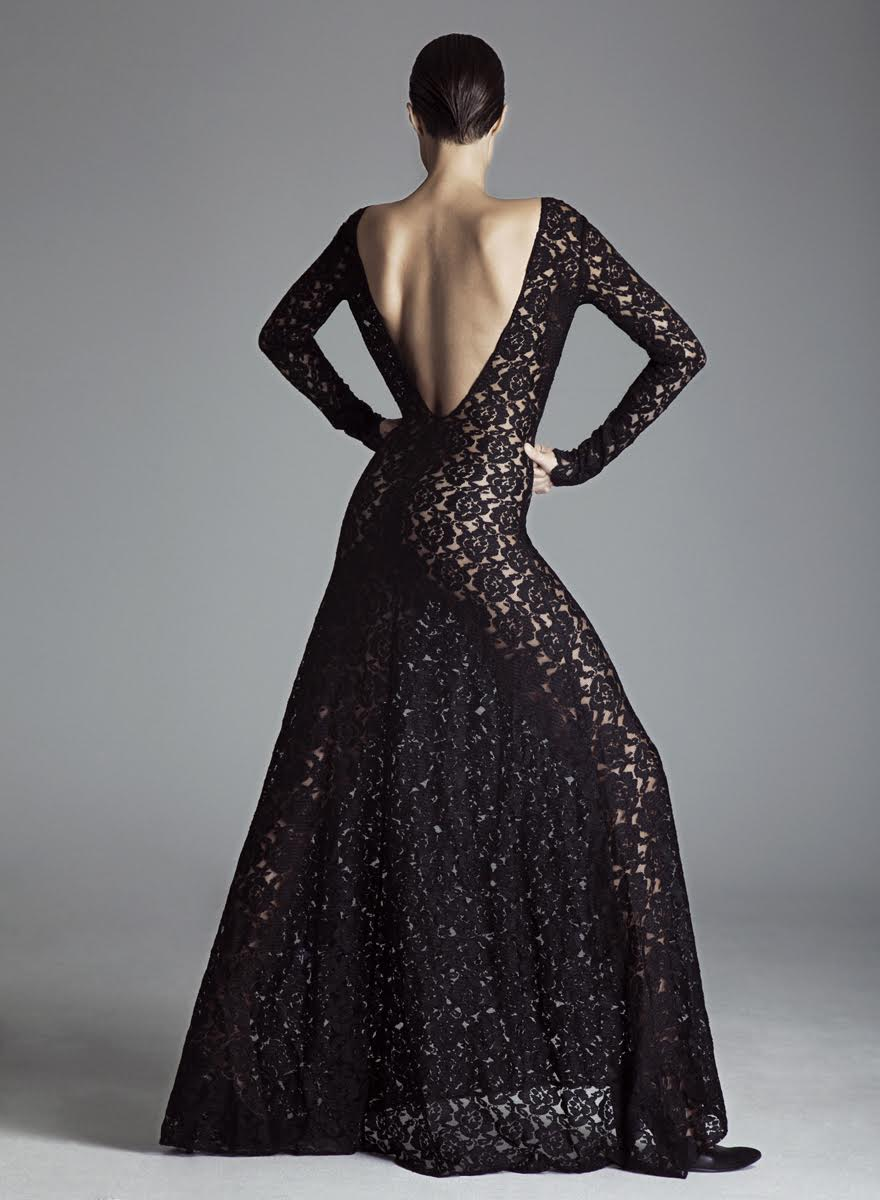 LONG LACE DRESS — SOFIFI