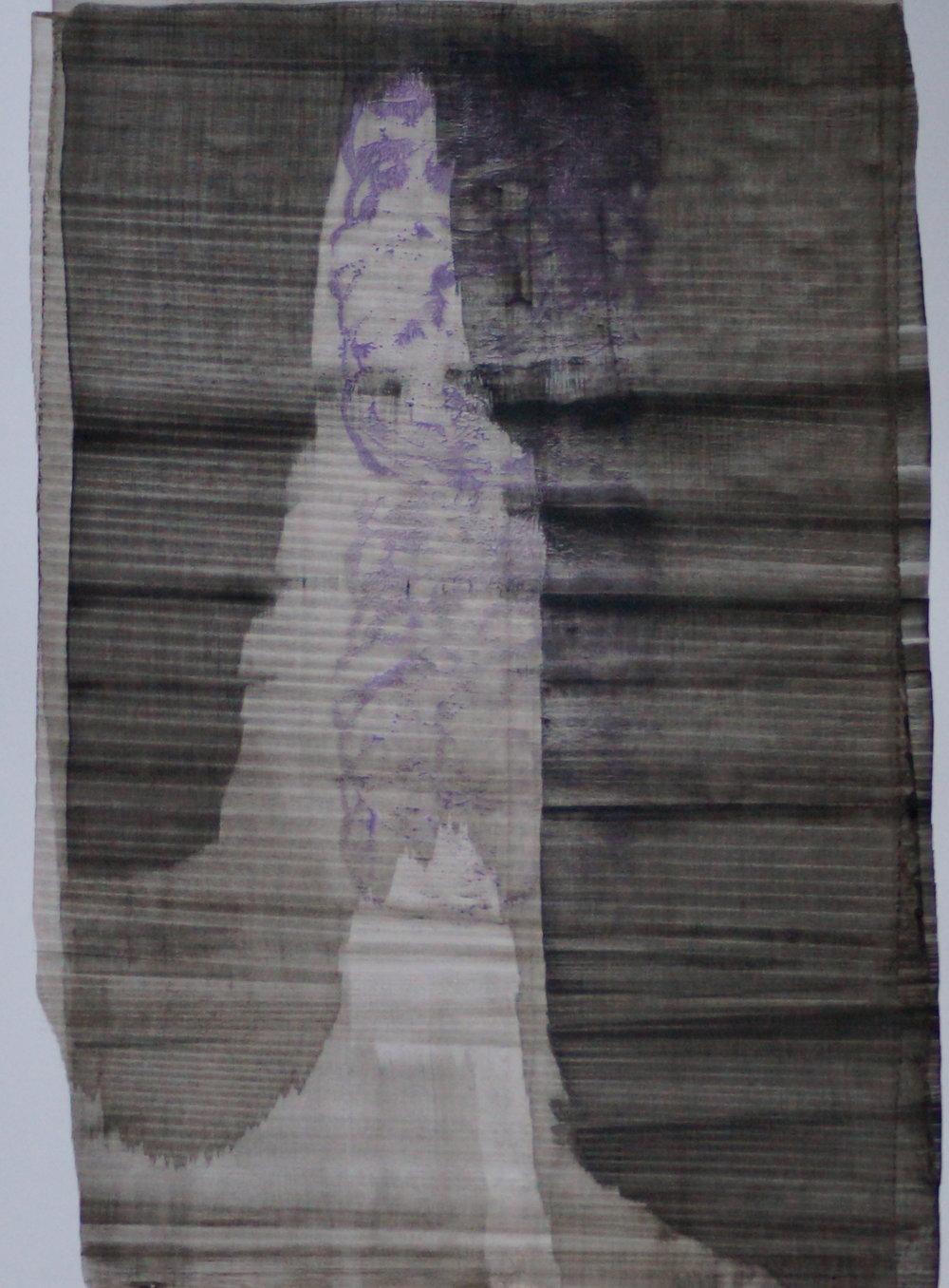 Sans titre, encre sur papier, A3, 2015