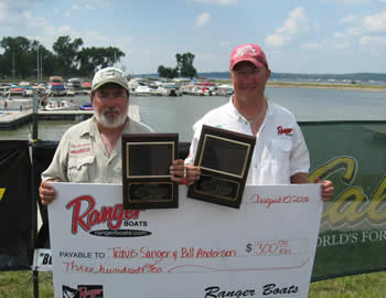 Bill Anderson and Travis Sanger 3rd Place & Ranger Cup