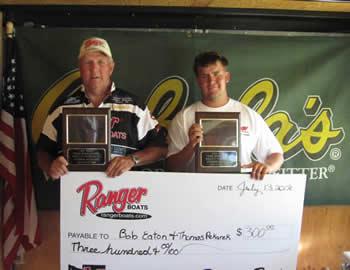 Bob Eaton & Thomas Pekerek 2nd Place & Ranger Cup Bonus