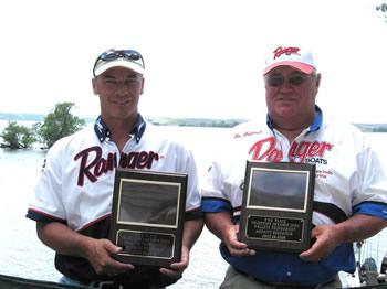 Tim Hoffman & Scott Placzek 2nd Place & Ranger Cup