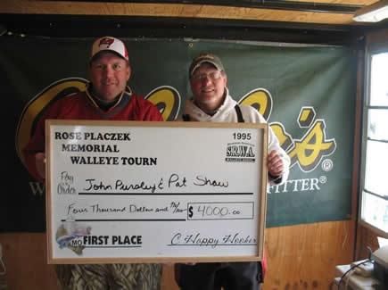 1st Place John Pursley and Pat Shaw