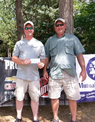 1st place – Bill Kunze and Brad Dush