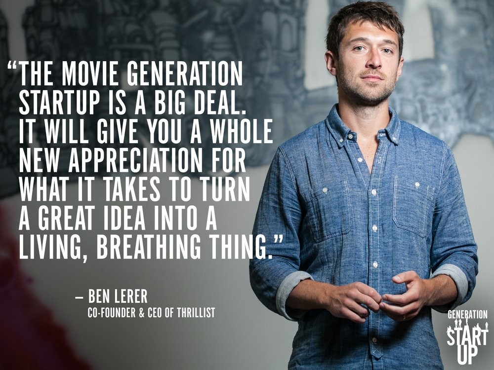 GenerationStartup_BenLerer