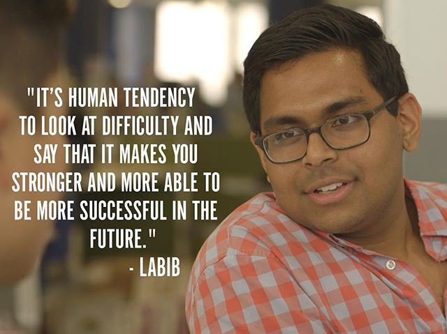 """""""So that's what I tell myself: that by knowing and learning how to be alone, and knowing that my views and perspectives on life will always be different from other people, gives me the opportunity to do things that other people won't, things that people who feel comfortable everywhere can't."""" - Labib #GenerationStartup #LearningToFail #RedefiningSuccess"""