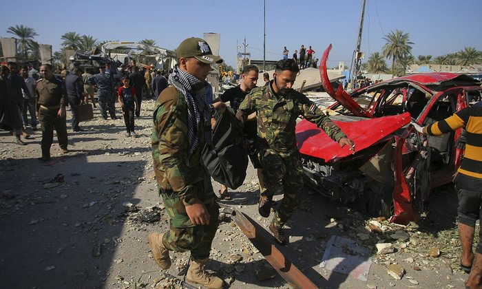 For March 7th 2016 - Syria overshadows, but Iraq is still dangerous