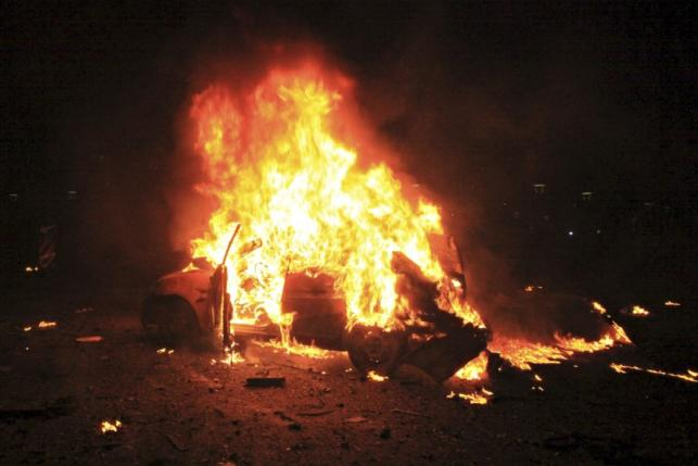 For March 14th - Ankara in flames, again.
