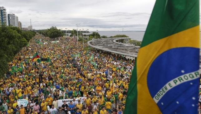 For March 15th - Protests on the streets of Manaus