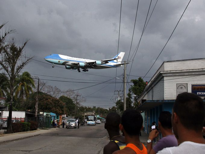 For March 22nd - Air Force One over Havana