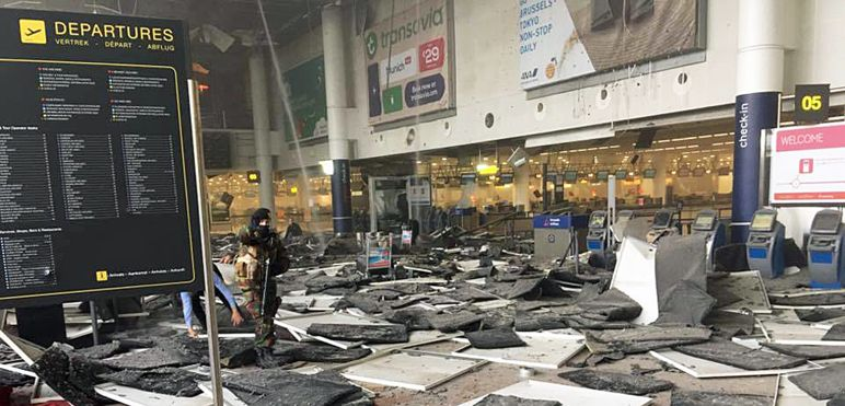 For March 23rd - Aftermath in Brussels