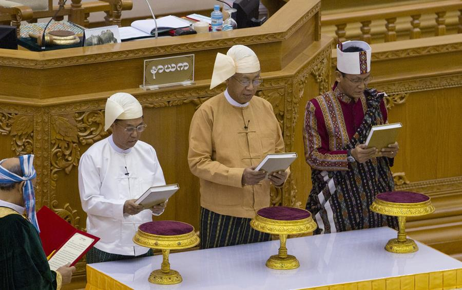 For March 31st - Myanmar's day has come, as democracy starts.